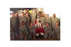 Troops Coming home from Iraq for Christmas