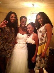 Trina Braxton, (P-Nut's Wife) Lisa Johnson, Kiami Davael, & Demetria McKinney