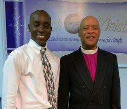 Bro Brandon and Bishop North