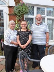 Lorraine, Brian & Evie