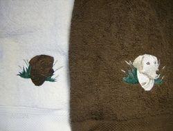 Lab head towels