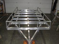 12' flat deck skeleton