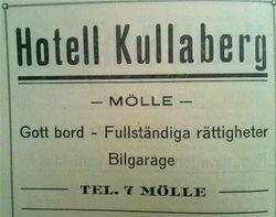 Hotell Kullaberg 1928