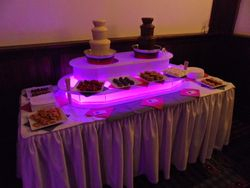 Small Chocolate fountain hire package