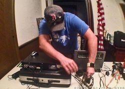 Gary setting up DVR