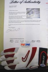 Albert Pujols 2002 Game-Worn Autographed Batting Glove
