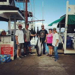 75lb tuna. Way to go! caught 6/14/16