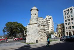 Museo de la Revolucion - Part of Old City Wall
