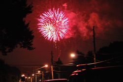 Home town Fireworks 4