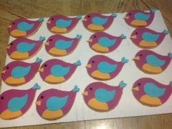 baby Bird cookies