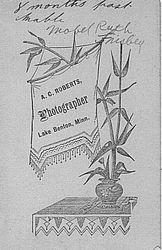 Mabel Ruth Frisbey of Lake Benton, Minnesota