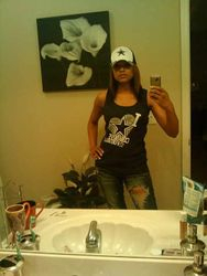 Demetria McKinney Is A True Cowboy Fan ;)
