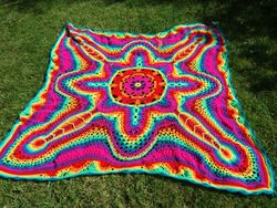 Cosmic Starburst throw