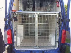 Dog Tired Van Open Rear View
