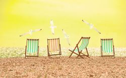 Beach Chairs - Yellow