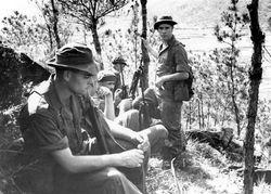 C Troop Taking a Break 1962