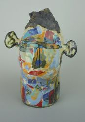 Mary Jones Ceramics. Thunder, lightning and vodka.