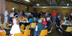 Members at the Friday Night Function at Coffs - Oct 2003