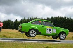 MK2 Escort rally car using Expert system.