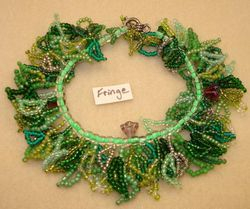 Fringe Flowers Bracelet