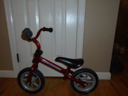 Chicco Red Bullet Balance Training Bike Strider - $30