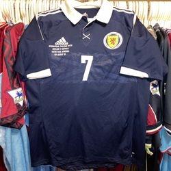 Robert Snodgrass worn Scotland shirt