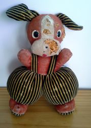Doggy before repair Japanese design from approx 1968