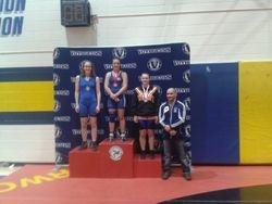 Claire Lizotte - 2nd place at Juvenile Provincials 2014
