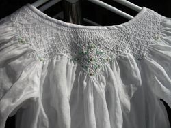 Sarah's Christening Gown