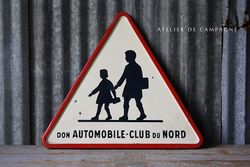 #25/041 FRENCH ROAD SIGN