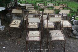 SOLD #19/171 Metal Chairs SOLD