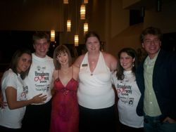 All smiles with Susan Egan