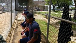 Pflugerville in the dugout