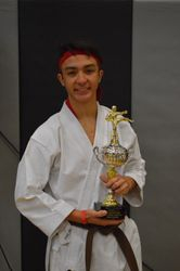 Grand Champion Youth 13-17 Weapons/Kata