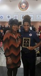 Section Member Queen Washington & Honoree Loriel Price