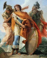 Tiepolo, Rinaldo Leaving Armida, 1742-45, Chicago, detail