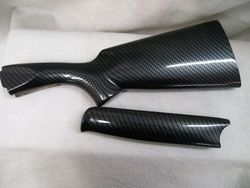 Shotgun stock and forearm Processed in Carbon Fiber