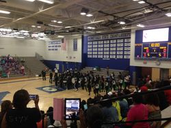 All-Stars marching in