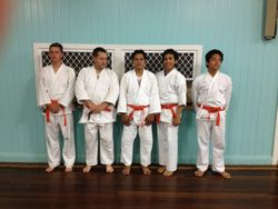 Green belt gradings hels on the 18/03/16