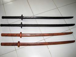 New Bokkens with Hand Guard (Tsuba)