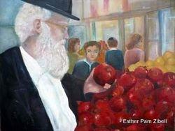 Choosing pomegranates