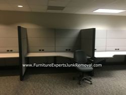 Junk office cubicle removal in germantown MD