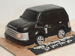 Range Rover Cake(SP064)