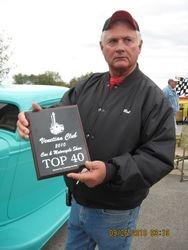 Bob and his award!!