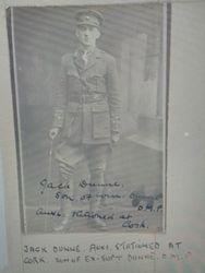 T/Cadet John Joseph Dunne ADRIC No 1661
