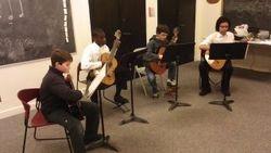NMS Guitar Quartet, 2012.