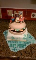 Krabby Patty Cake