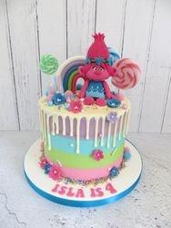 Isla's 4th Birthday Cake