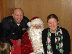 Lou, Santa & Kaitlyn