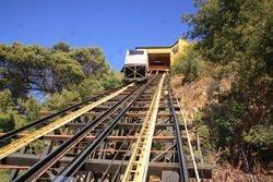 Incline Railroad Valparaiso, Chili